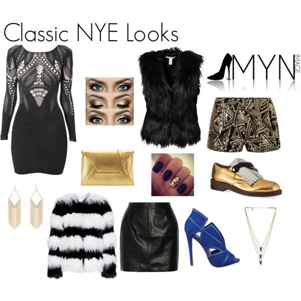 Classic NYE looks